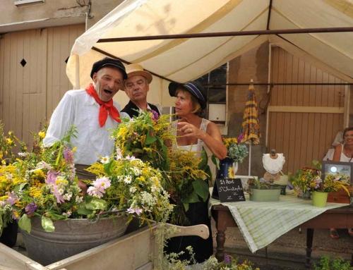 Le petit marché et Marche gourmande à Xaronval – 7 Août 2016