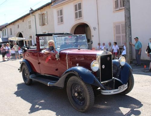 Journée du patrimoine : regroupement village 1900 et musées de Mirecourt avec voiture rétro taxi entre les 2 sites – 16 septembre 2018