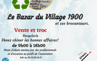 Ouverture recyclerie 5 juin 2021