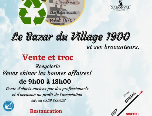 Ouverture Bazar 1900 samedi 5 juin 2021